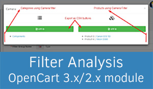 Filter Analysis OpenCart